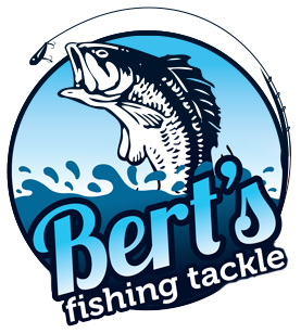 berts fishing tackle logo