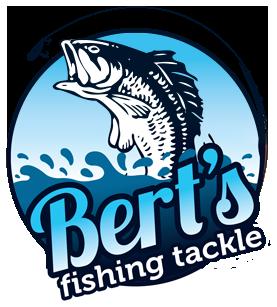 berts fishing tackle logo